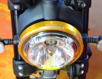 Ducabike - Ducabike Billet Headlight Ring: Ducati Scrambler 800-1100, Sixty2 - Image 3