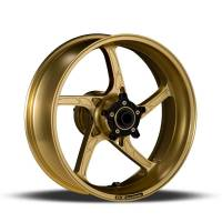 "OZ Wheels - OZ Piega Wheels - OZ Motorbike - OZ Motorbike Piega Forged Aluminum Rear Wheel Old Gold style: Ducati 749/999 [6.0""]"