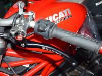Ducabike Billet Adjustable Brake & Clutch Folding Levers: Monster 821/ Hypermotard-Hyperstrada 821/939