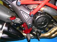Ducabike - Ducabike Adjustable Rear Sets With Support Bracket: Ducati Diavel - Image 6