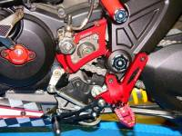 Ducabike - Ducabike Adjustable Rear Sets With Support Bracket: Ducati Diavel - Image 4