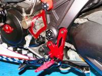 Ducabike - Ducabike Adjustable Rear Sets With Support Bracket: Ducati Diavel - Image 5