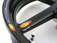 BST Wheels - BST Diamond TEK Carbon Fiber 5 Spoke Wheel Set: Ducati Monster 821 - Image 3