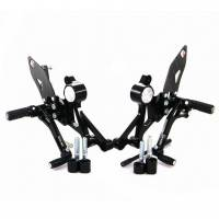 Ducabike - Ducabike Adjustable Rear Sets: M696 / M796 / M1100 - M1100 EVO [Folding Pegs/CF Heel guards] - Image 2