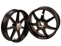 "BST Wheels - BST 7 Spoke Wheel Set: MV Agusta F3/Brutale 675-800/ Stradale, Rivale, Dragster/ RC [6.0"" Rear]"