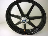 "BST Wheels - BST 7 Spoke Wheel Set: MV Agusta F3/Brutale 675-800/ Stradale, Rivale, Dragster/ RC [6.0"" Rear] - Image 2"