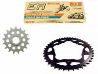 Drive Train - Chains - SUPERLITE - SUPERLITE Lightweight Steel Sprocket Kit: KTM 1290R /GT [520 Chain]