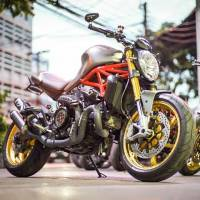 OZ Motorbike - OZ Motorbike GASS RS-A Forged Aluminum Wheel Set: Ducati Monster 821 - Image 14