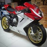 OZ Motorbike GASS RS-A Forged Aluminum Wheel Set: MV Agusta F3/Brutale 675-800/ Stradale, Rivale
