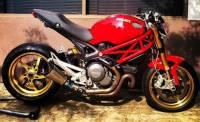 OZ Motorbike Piega Forged Aluminum Wheel Set: Ducati 1098-1198, SF, MTS1200, Monster1200