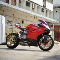 OZ Motorbike GASS RS-A Forged Aluminum Wheel Set: Ducati 1199, 1299 Panigale