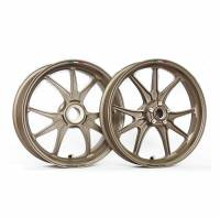 Ducati - Marchesini Superleggera M9RS Forged Magnesium wheels In Gold Color: Ducati Panigale:1199/1299/V4 [Only One set available]