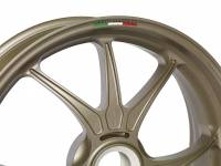 Ducati - Marchesini Superleggera M9RS Forged Magnesium wheels In Gold Color: Ducati Panigale:1199/1299/V4 [Only One set available] - Image 2