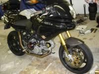 """BST 5 SPOKE WHEELS: DUCATI: Ducati 748-998, S2R-S4R, MTS1000-1100, MHE [6.0"""" Rear]"""