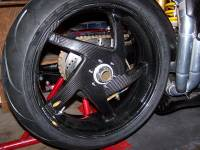 """BST 5 SPOKE WHEELS: Ducati 748-998, S2R-S4R, MTS1000-1100, MHE [6.0"""" Rear]"""