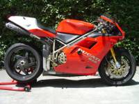 "BST 5 SPOKE WHEELS: DUCATI: Ducati 748-998, S2R-S4R, MTS1000-1100, MHE [6.0"" Rear]"