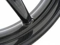 """BST Wheels - BST Diamond TEK Carbon Fiber 5 Spoke Wheel Set: Ducati 749-999 [5.75"""" Rear] - Image 5"""