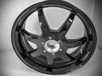 """BST 7 Spoke Wheels: Ducati 848 / Streetfighter 848 [6.0"""" Rear]"""