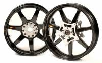 BST Wheels - 7 Spoke Wheels - BST Wheels - BST 7 Spoke Wheel Set: BMW HP2 Megamoto