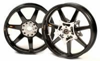 BST Wheels - 7 Spoke Wheels - BST Wheels - BST 7 Spoke Wheel Set: BMW HP2 Megamoto