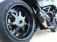 BST 7 Spoke Rear Wheel: Ducati Diavel
