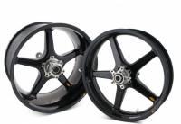 """BST Wheels - 5 Spoke Wheels - BST Wheels - BST 5 Spoke Rear Wheel: Ducati Scrambler 5.5""""X17"""""""