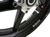 "BST Wheels - BST Diamond TEK 5 Spoke Carbon Fiber Wheel Set [6.0"" Rear]: Suzuki GSX-R 1000 '05-'08 - Image 4"