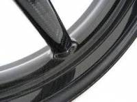 """BST Wheels - BST 5 SPOKE WHEELS: Suzuki SV1000  [6.0"""" Rear] - Image 3"""