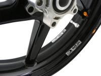 "BST 5 SPOKE WHEELS: Suzuki Hayabusa  08-14 Non-ABS  [6.0"" Rear]"