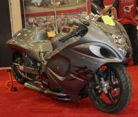 "BST Wheels - BST 5 SPOKE WHEELS: Suzuki Hayabusa  08-14 Non-ABS  [6.0"" Rear] - Image 2"