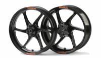 Daily Deal - Motowheels Daily Deals - OZ Motorbike Cattiva-R Forged Magnesium Wheel Set: Ducati 749/999 16.5