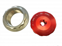 MVS Performance - MVS Performance Billet Wheel Nut & Rear axle Socket Tool Combo: MV AGUSTA