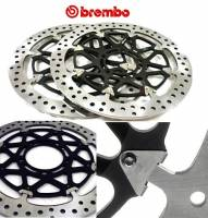Brake - Rotors - Brembo - BREMBO HP T-Drive Disk Kit: [Ducati 5 Bolt/320mm, 10MM Offset] - Monster 796/797, Monster 1100 EVO, 821, 1200, Hypermotard, Diavel, MTS1200, Hyperstrada, Supersport 939
