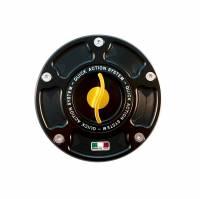 TWM Quick Action Aluminum Fuel Cap: 848 / 1098 / 1198 / 748 / 916 / 996 / 998 / Monster / ST / MV Agusta