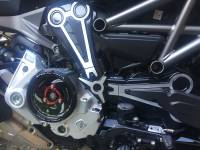 Ducabike Complete Clear Clutch Case Cover/Pressure Plate/Ring: Ducati MTS 1200 15+ / X Diavel