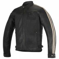 Men's Apparel - Men's Leather Jackets - Alpinestars Apparel - Alpinestars Charlie Leather Jacket