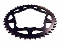 Drive Train - Rear Sprockets - SUPERLITE - SUPERLITE RS7 520 Pitch Steel Race Rear Sprocket: Ducati 5 Hole, MV Agusta F4 750/Brutale 750 [Quick Change]