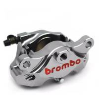 Brembo - BREMBO Nickel 84mm Mount CNC 2 Piece Rear Caliper [Pads included]