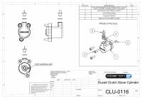 OBERON Clutch Slave Cylinder: Ducati