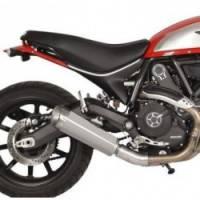 Spark Ducati Scrambler Slip-on: Evo V Stainless Steel