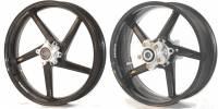 "BST Wheels - 5 Spoke Wheels - BST Wheels - BST 5 Spoke Wheel Set: Ducati Desmosedici RR [6.25"" Rear]"