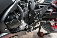 Hand & Foot Controls - Foot  Controls - Bonamici Racing - Bonamici Adjustable Billet Rearsets: Suzuki GSX-R 1000  2017-