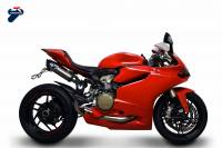 Termignoni License Plate Holder To Fit Force Design Complete Racing Exhaust System: Ducati Panigale 1199/ 1299