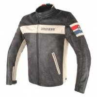 Men's Apparel - Men's Leather Jackets - DAINESE - DAINESE HF D1 Perforated Leather Jacket