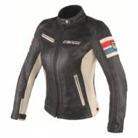 Women's Apparel - Women's Leather Jackets - DAINESE - DAINESE Lola D1 Lady Leather Perforated Jacket