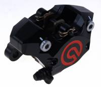 Brake - Performance Kits - Brembo - BREMBO Black 84mm Mount CNC 2 Piece Billet Rear Caliper