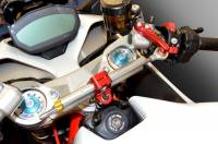 Suspension & Chassis - Steering Dampers - Ducabike - Ducabike/Öhlins Steering Damper Kit: Ducati Supersport 2017-