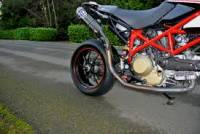 Termignoni CF Racing Full Exhaust System: Ducati Hypermotard 1100/796