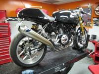 TermignoniRacing FULL 2-1 EXHAUST SYSTEM: Ducati Sport Classic/S [Mono Shock], Paul Smart