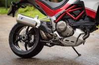 Exhaust - Full Systems - Termignoni - Termignoni Racing FULL Titanium EXHAUST SYSTEM: Ducati Multistrada 2015-